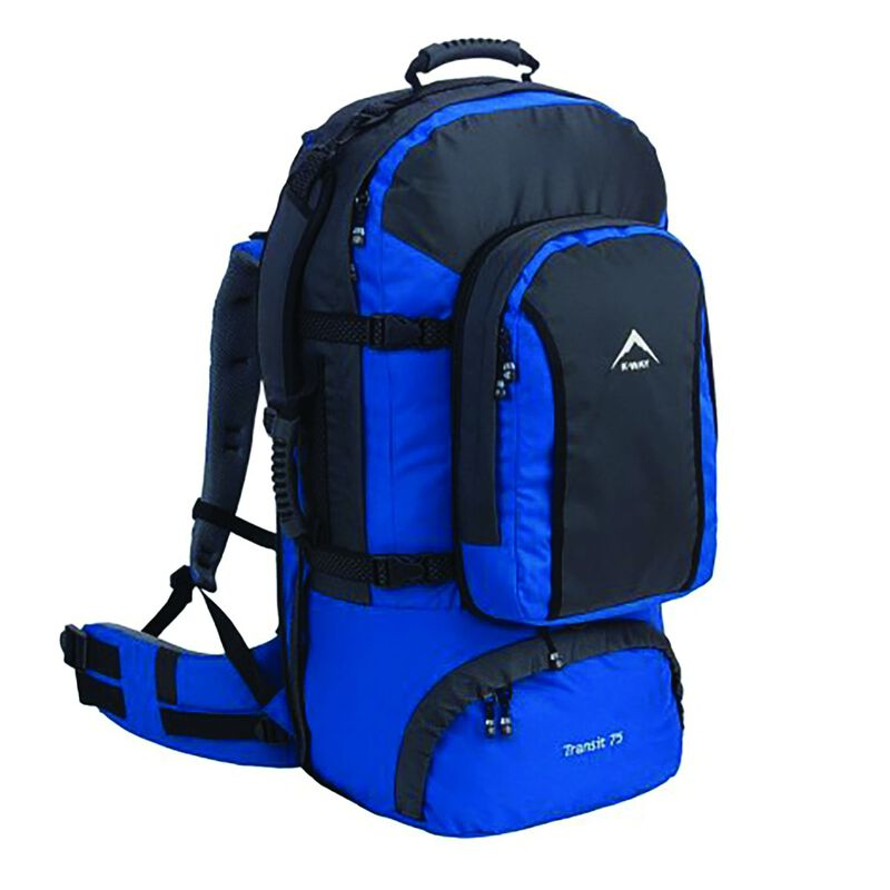 K-Way Transit 75 Travel Pack -  navy