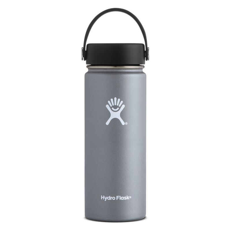 Hydroflask 532ml Wide Mouth Flask -  graphite