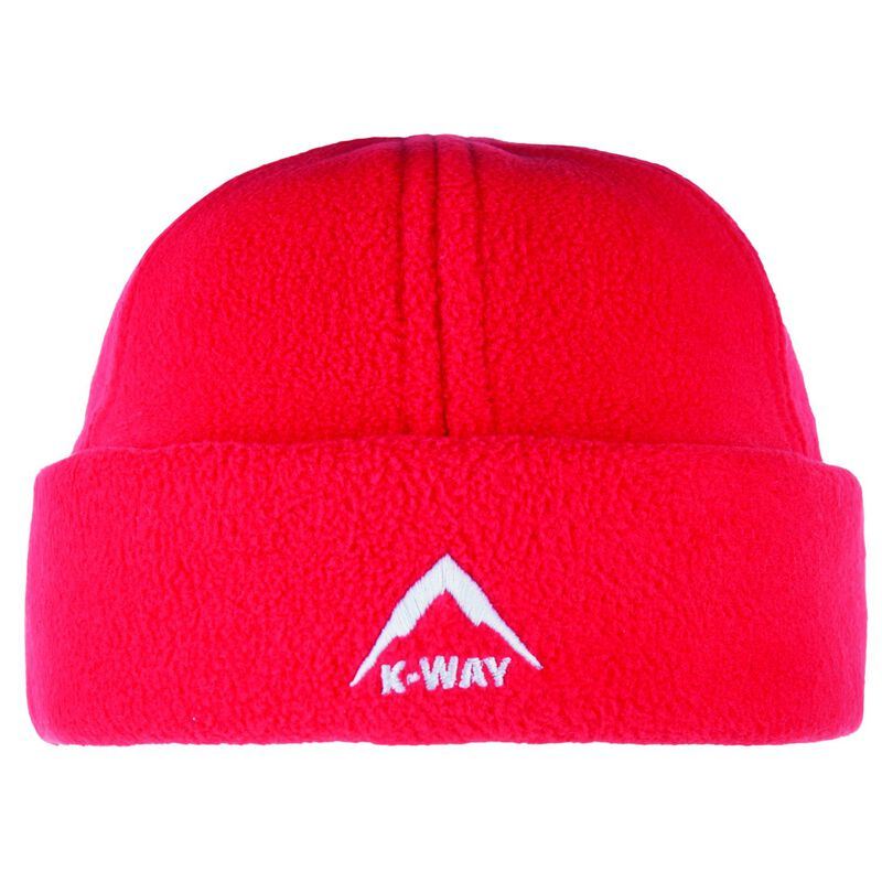 K-Way Unisex Fleece Beanie -  red