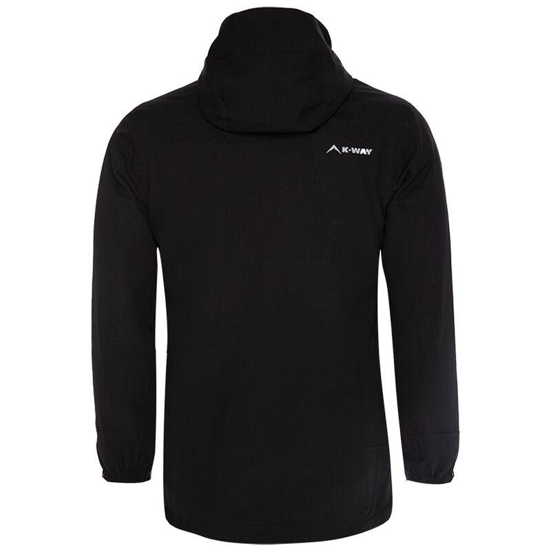 K-Way Women's Libra 3 in 1 Jacket -  black-rose