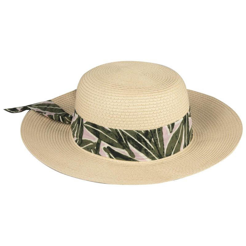 Jesmaine Floppy Sun Hat -  oatmeal-assorted