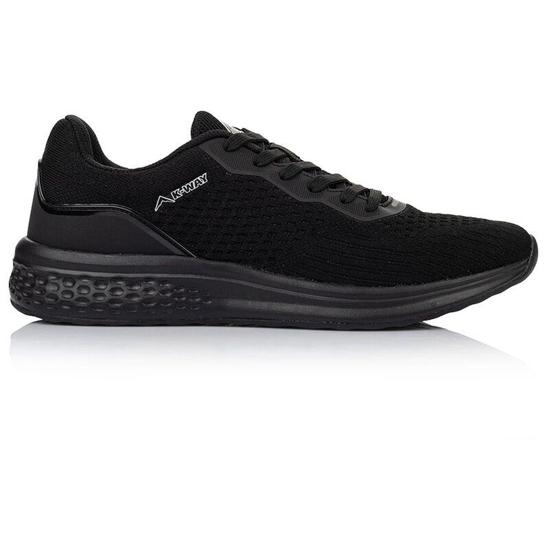 K-Way Men's Griffin Shoe -  black-black