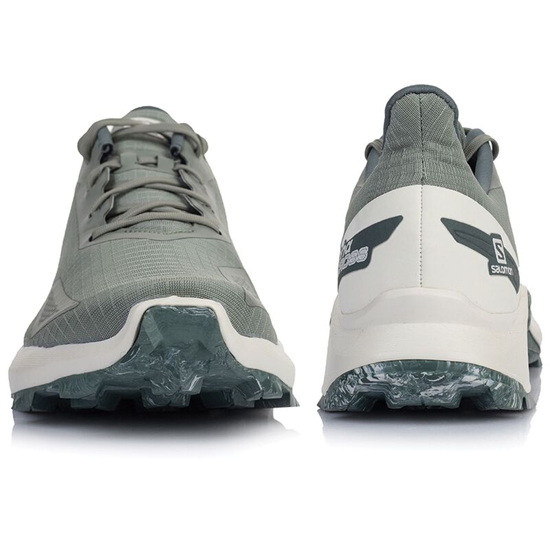 Salomon Alphacross Blast Shoe (Men's) -  lightolive-cream