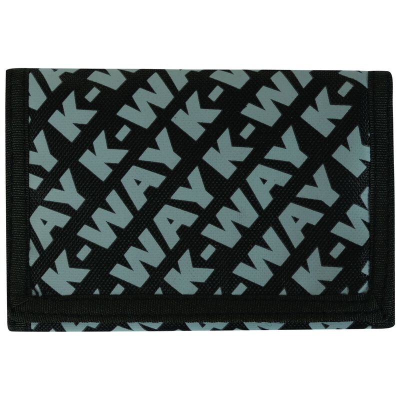 K-Way Utility Wallet -  black-grey