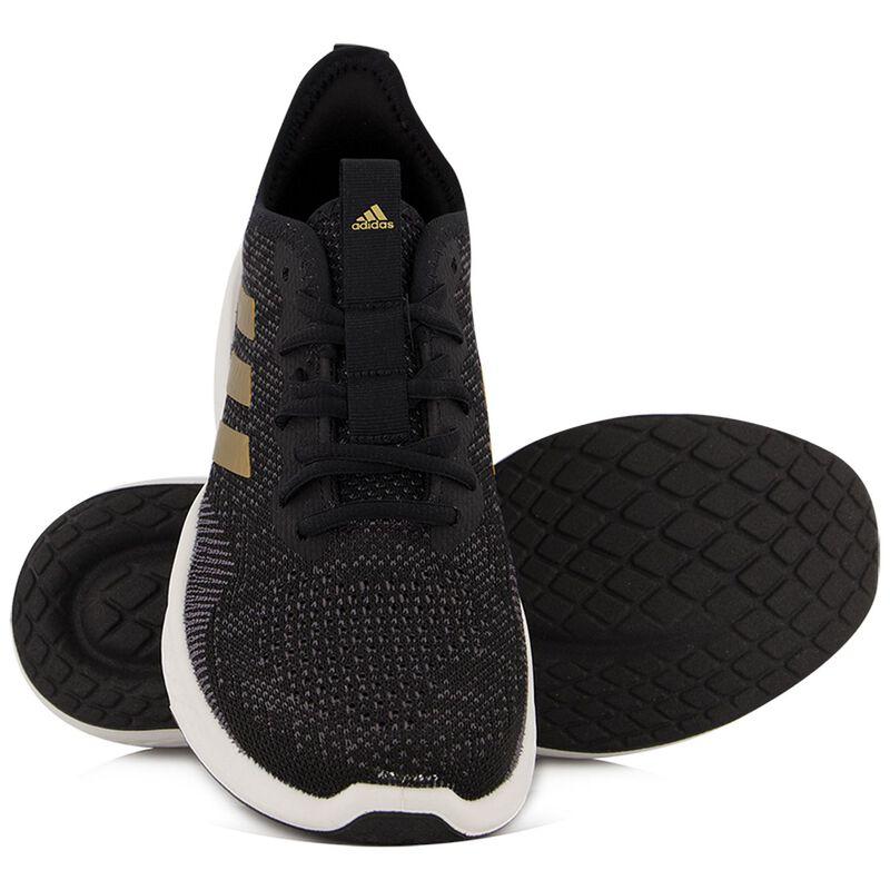 Adidas Women's Fluidflow Sneakers -  black-gold