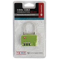 CU Cable Lock TSA -  lime