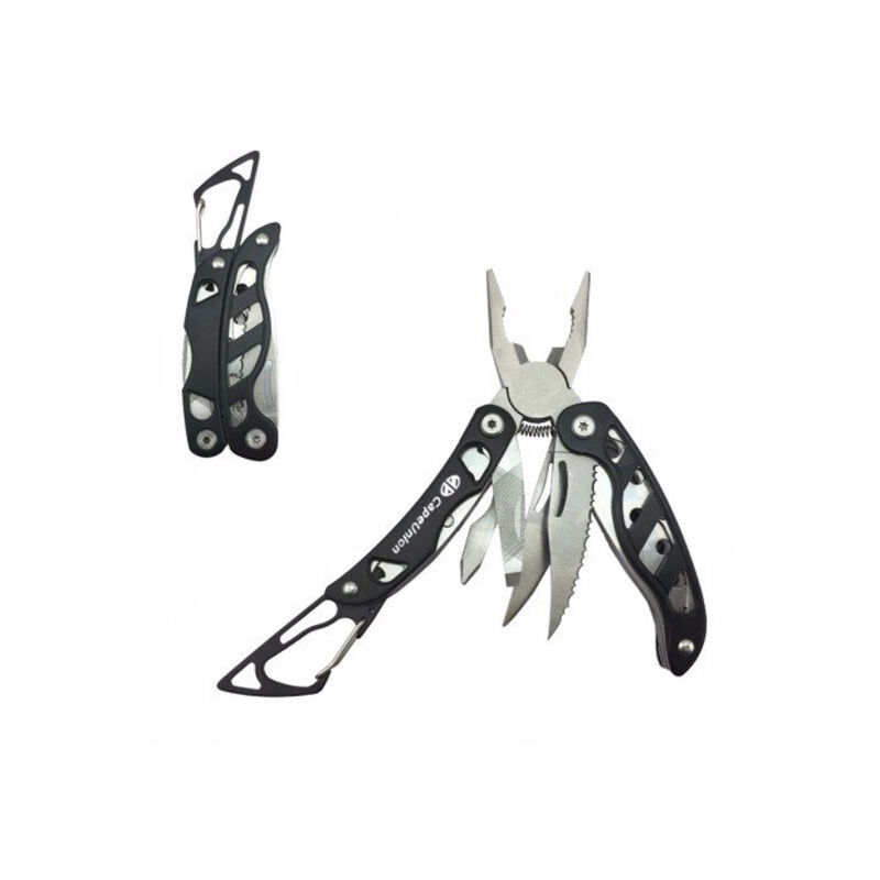 Cape Union Combo Multitool + Torch -  black-silver