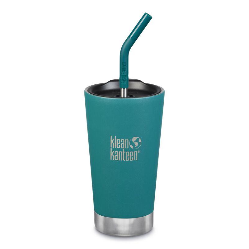 Klean Kanteen Vacuum Insulated Tumbler 16oz -  blue