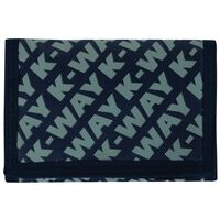 K-Way Utility Wallet -  navy-grey