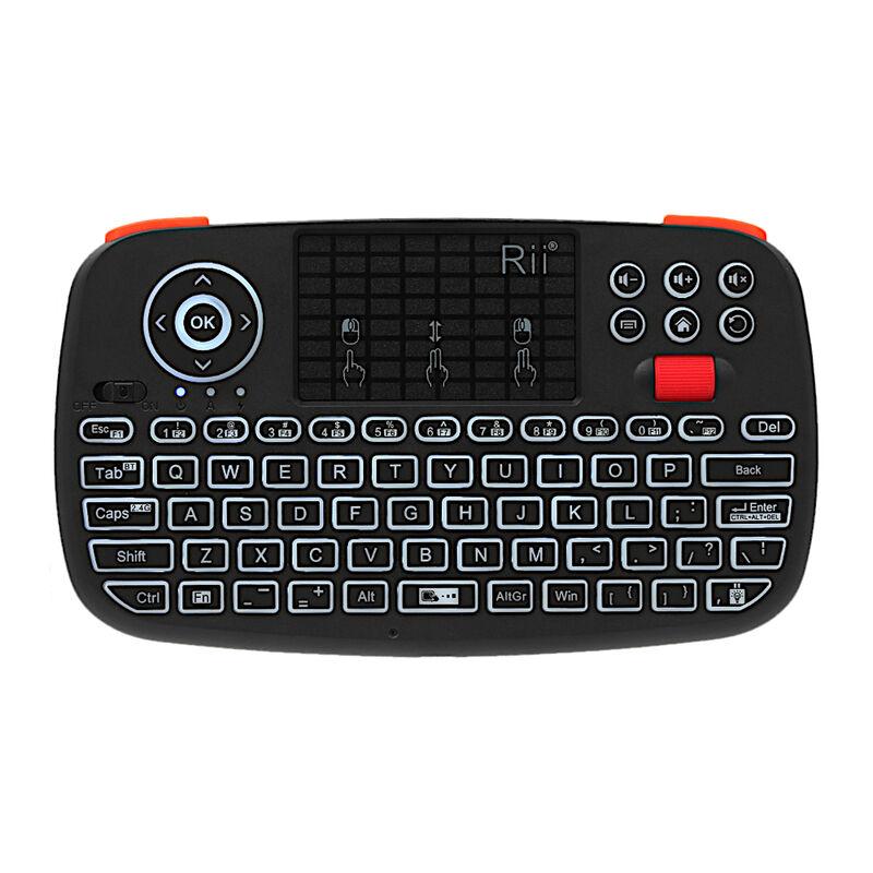 Rii Bluetooth 4.0 Wireless Keyboard Mini -  black