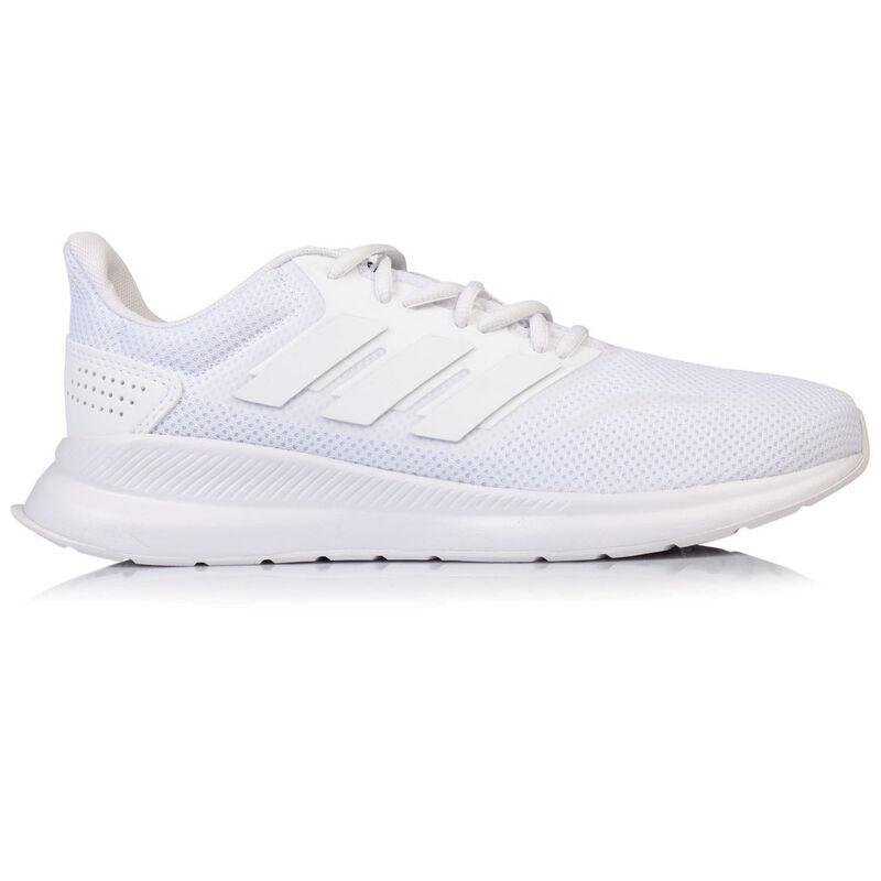 Adidas Men's RunFalcon Sneaker -  white-white