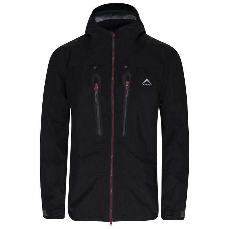 K-Way Expedition Series Men's Merak'16 Tri-lam Shell Jacket -  black-red