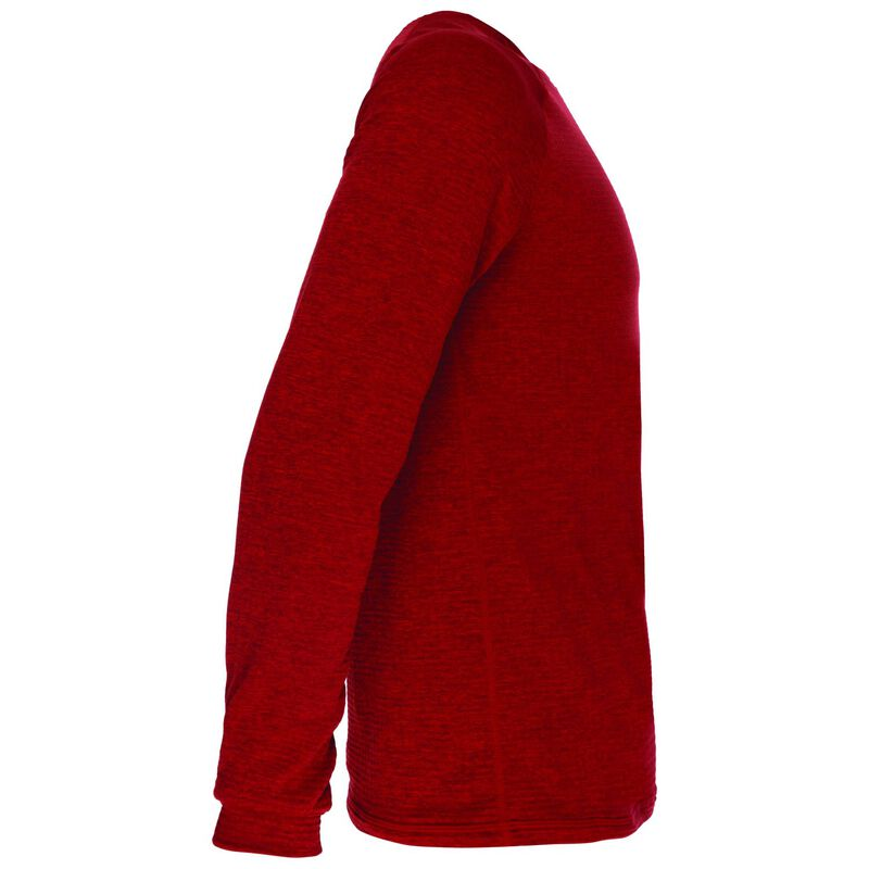K-Way Men's Harper Crewneck Fleece  -  red