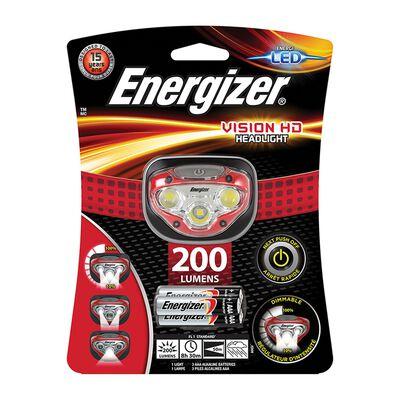 Energizer Vision HD Headlamp 200 + 3AAA