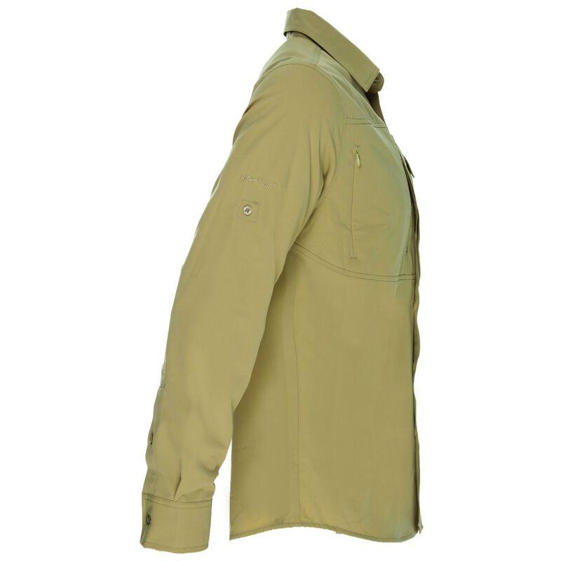 K-Way Men's Explorer Tredou Long Sleeve Shirt  -  khaki