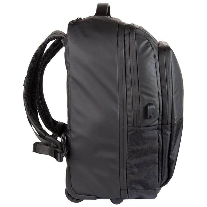 K-Way Power Roller Backpack -  black-black