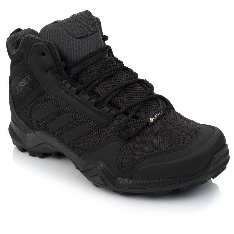 Adidas Men's AX3 Mid GTX Boot -  black-black