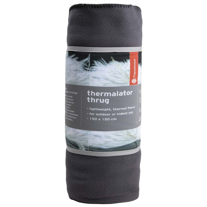 Cape Union Thermalator Thrug  -  charcoal
