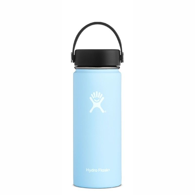 Hydroflask 532ml Wide Mouth Flask -  iceblue
