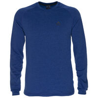 K-Way Men's Harper Crewneck Fleece  -  blue