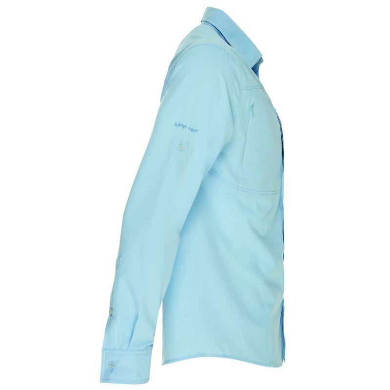 K-Way Men's Explorer Tredou Long Sleeve Shirt  -  iceblue