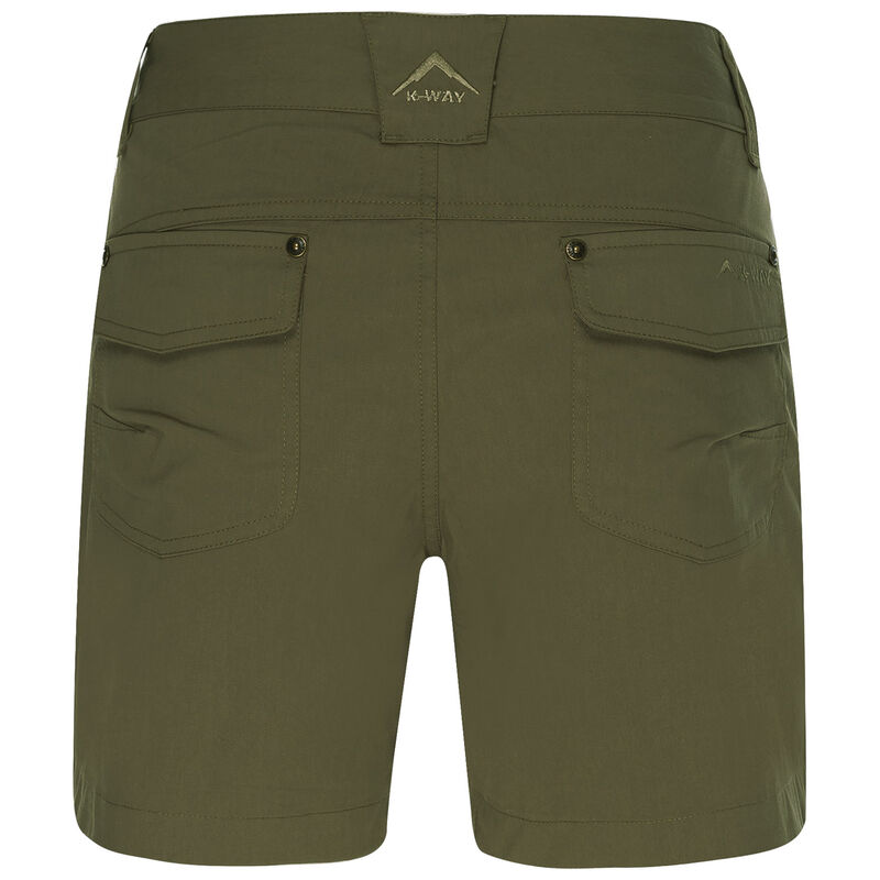 K-Way Women's Ravine Shorts -  khaki