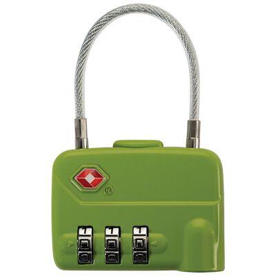Cape Union Cable Lock TSA Lock 3-Dial Combination