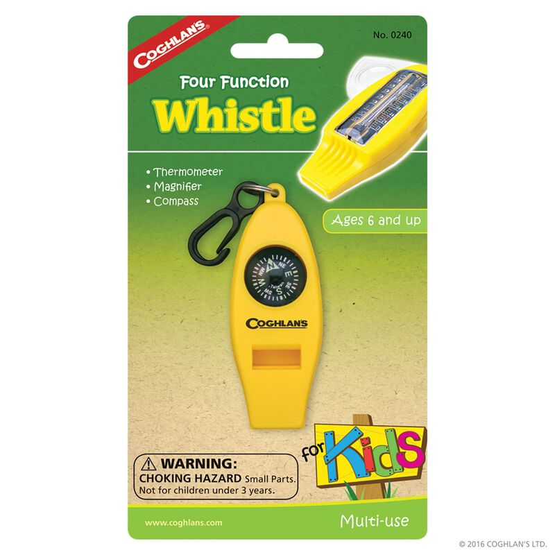 Coghlan's 4 Function Whistle for Kids -  nocolour