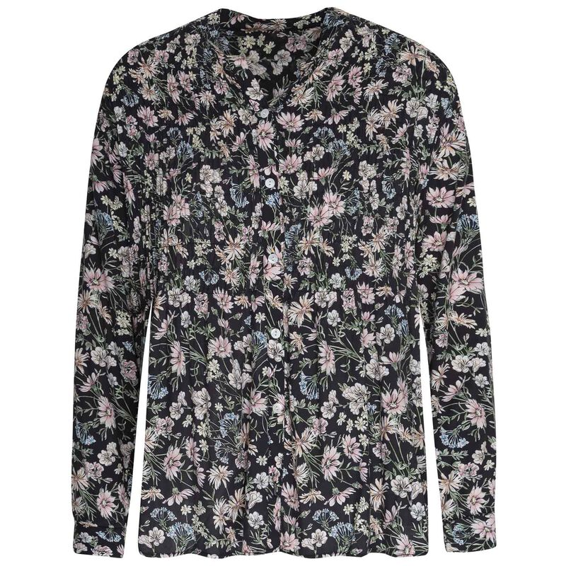 Rare Earth Dawn Printed Blouse -  assorted