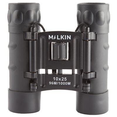 Malkin 10x25 Roof Prism Binoculars