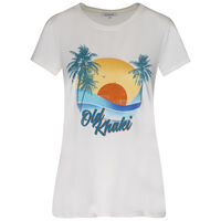 Old Khaki Women's Aviana Call Out T-Shirt -  milk