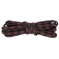 Tobby Round Outdoor 140cm Lace -  black-brown