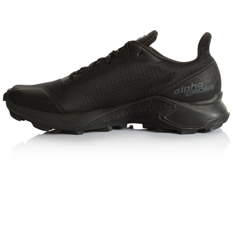Salomon Men's Alphacross Shoe  -  black-black