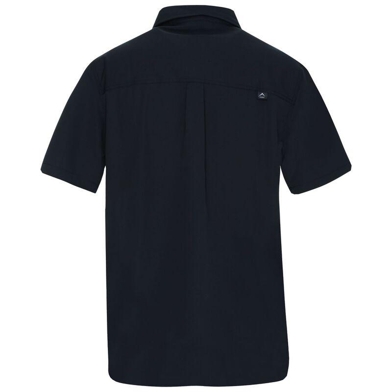 K-Way Men's Explorer Geoff Short Sleeve Shirt  -  graphite