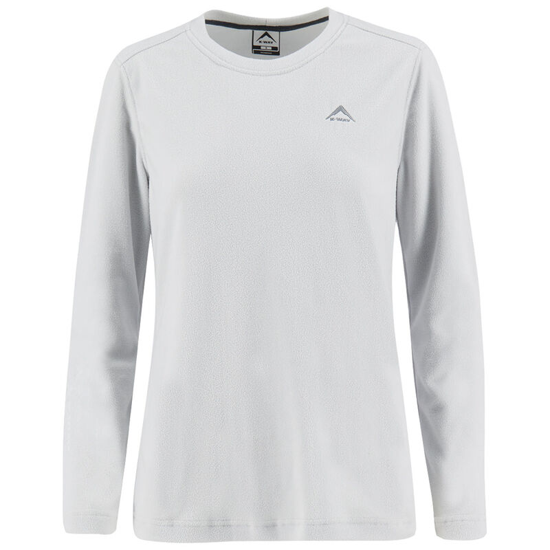 K-Way Women's Iris '17 Crewneck  -  silvergrey