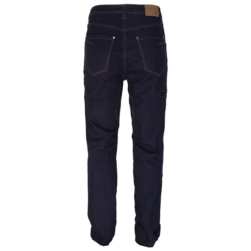 K-Way Men's Explorer Crag Tech Denim  -  blue
