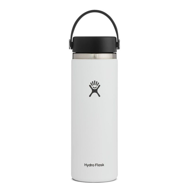 Hydroflask 591ml Wide Mouth -  white