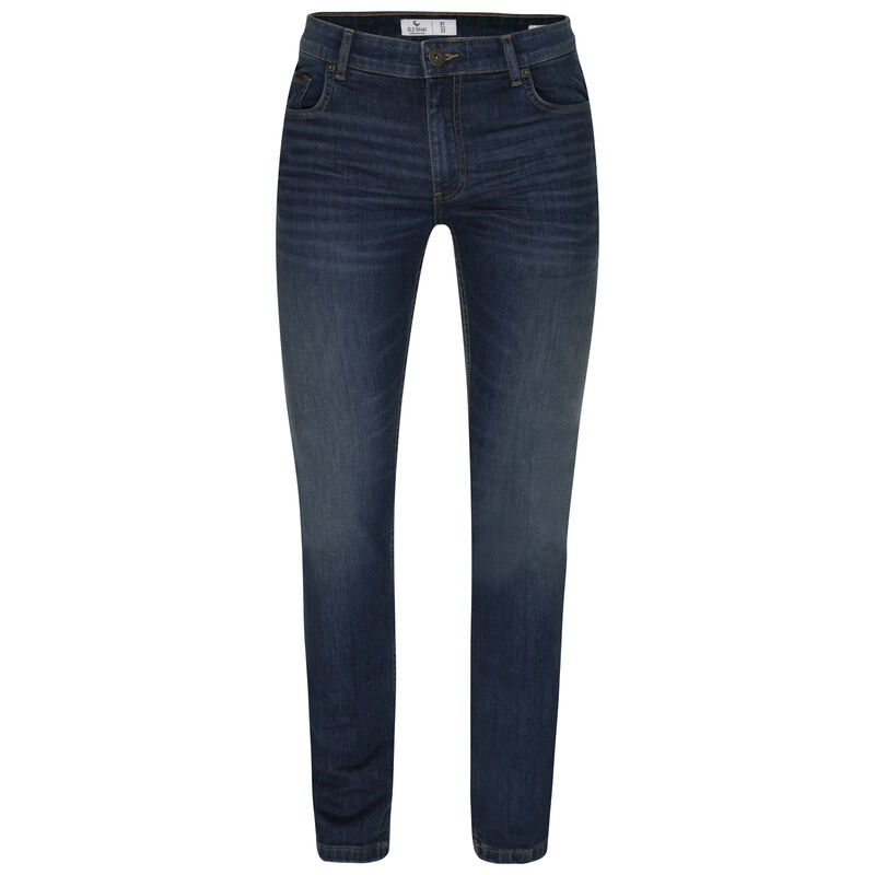Mayson Narrow Straight Denim -  midblue