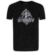 K-Way Men's Mirage T-Shirt S20 -  black