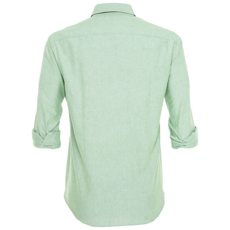 CU & Co Men's Wentworth Shirt -  sage-sage