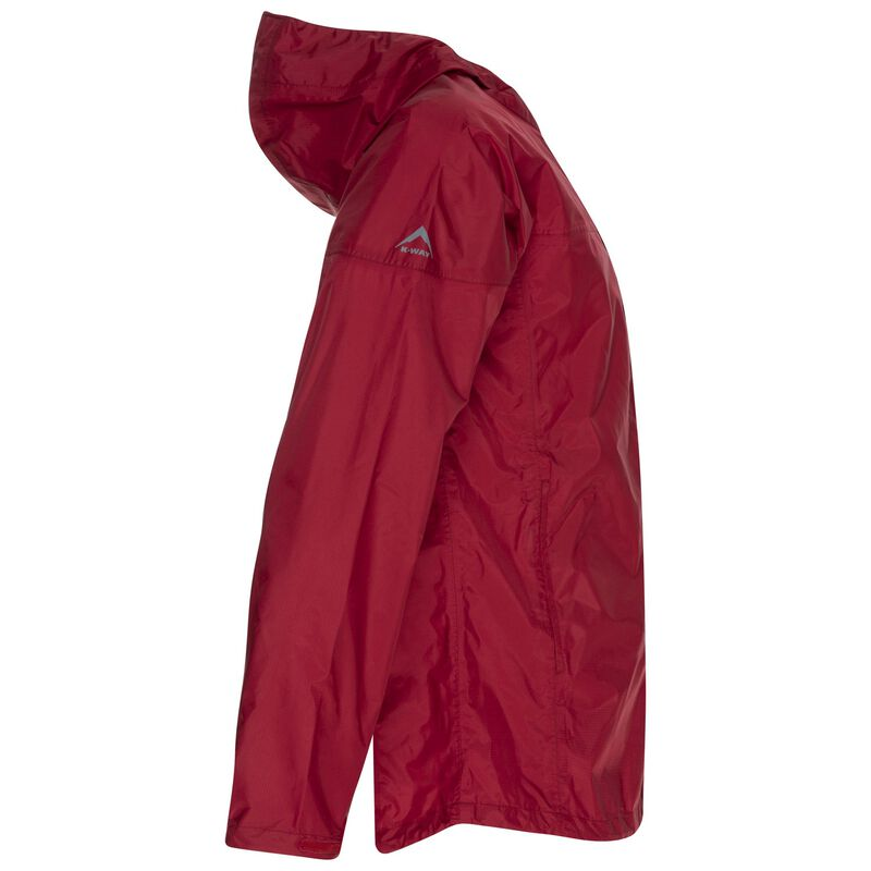 K-Way Men's Rainstorm Jacket -  red