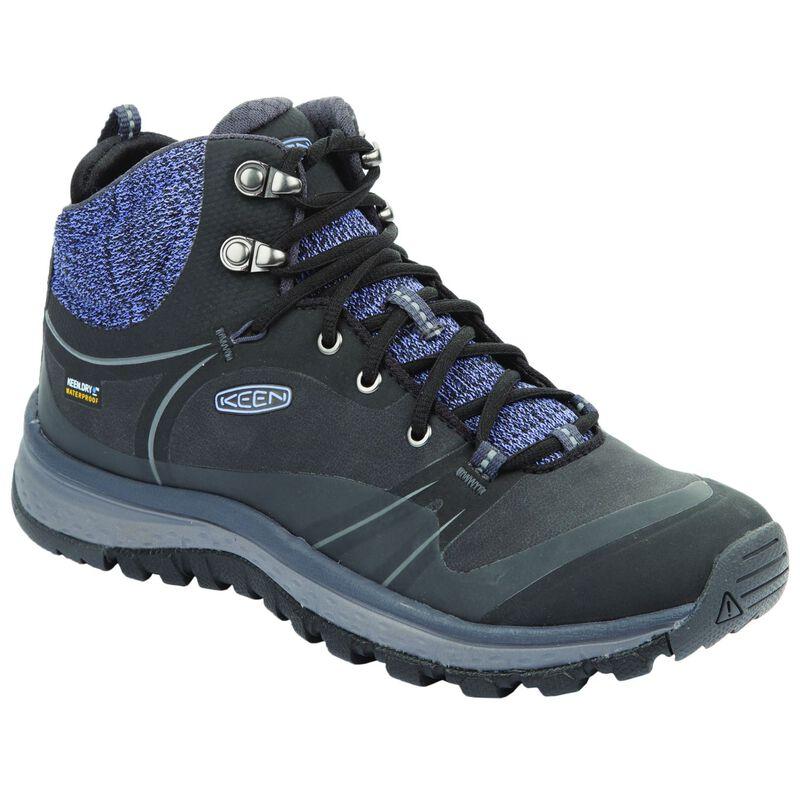 Keen Women's Terradora Mid Waterproof Boot -  blue-purple