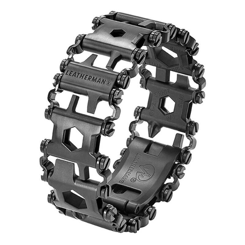 Leatherman Tread Black Bracelet  and Leatherman Rev -  black