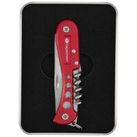 Cape Union 8 Function Multi-Knife -  red
