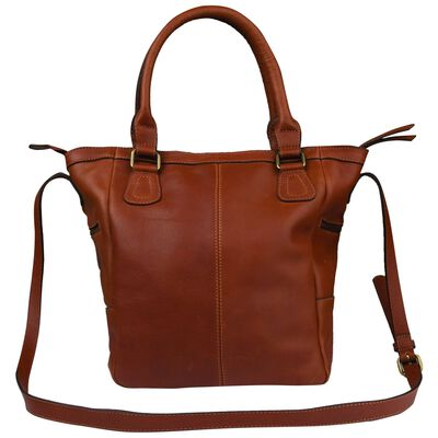 Old Khaki Amayah Leather Shopper