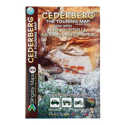 Map Cederberg Waterproof