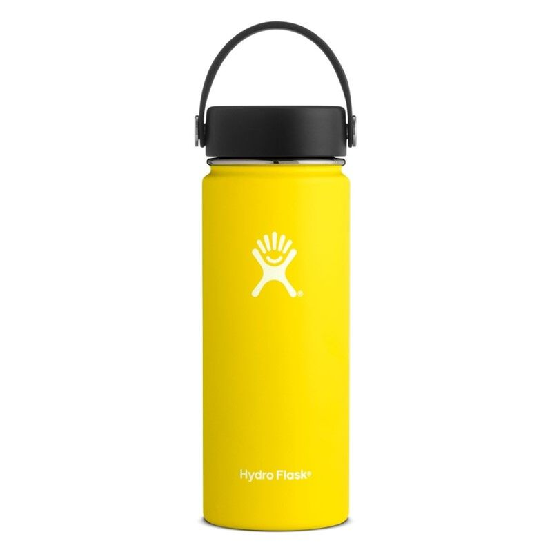 Hydroflask 532ml Wide Mouth Flask -  yellow