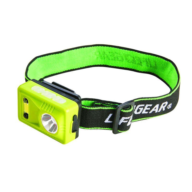 Life+Gear Rechargeable Headlamp -  green