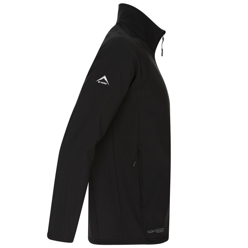 K-Way Men's Felixx Sport Sofshell  -  black