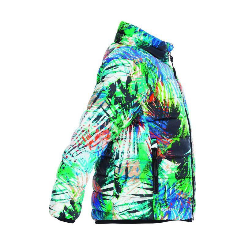 K-Way Kids Printed Cygnet Down Jacket -  green-assorted